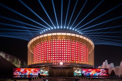 OPPLE Lighting highlighted the China Pavilion at Dubai Expo