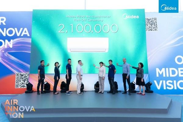 Visión Verde, Futuro Azul: Midea celebra conferencia para lanzar su solución NZEC para hogares inteligentes (PRNewsfoto/Midea)